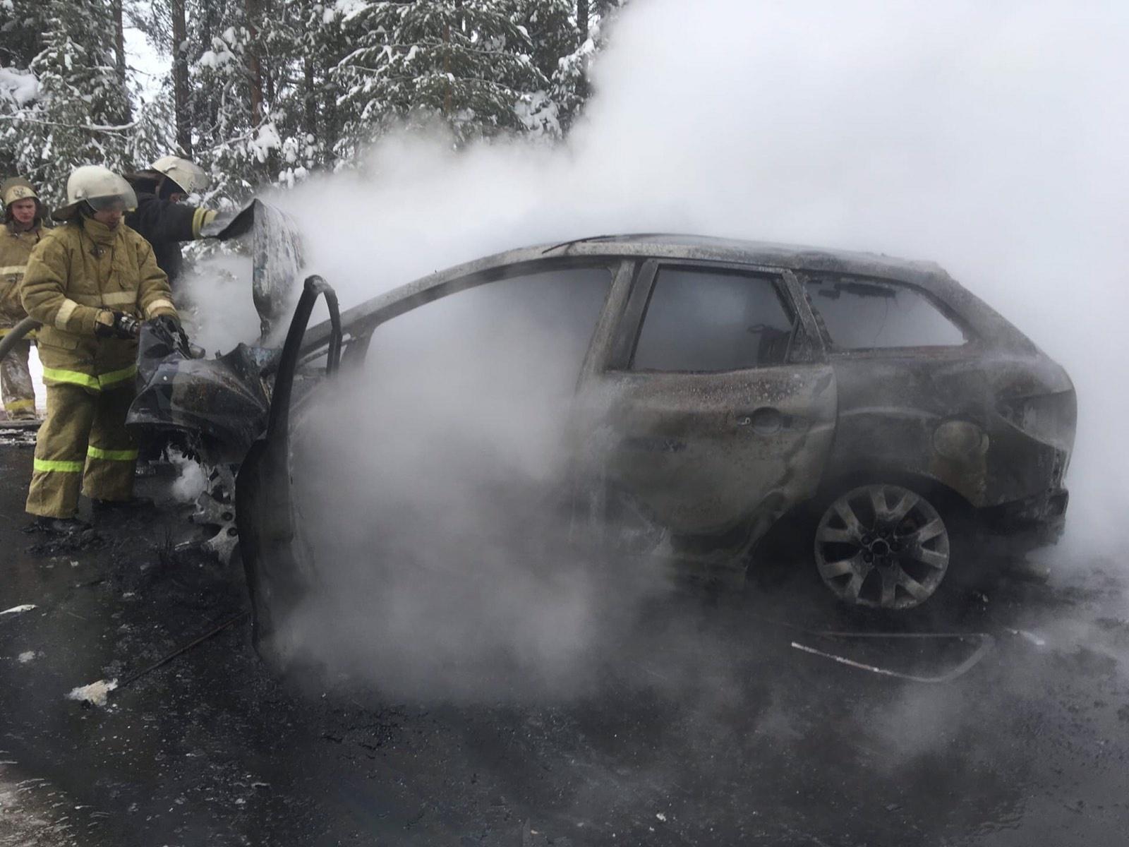 Дорожно-транспортное происшествие в Санчурском муниципальном округе