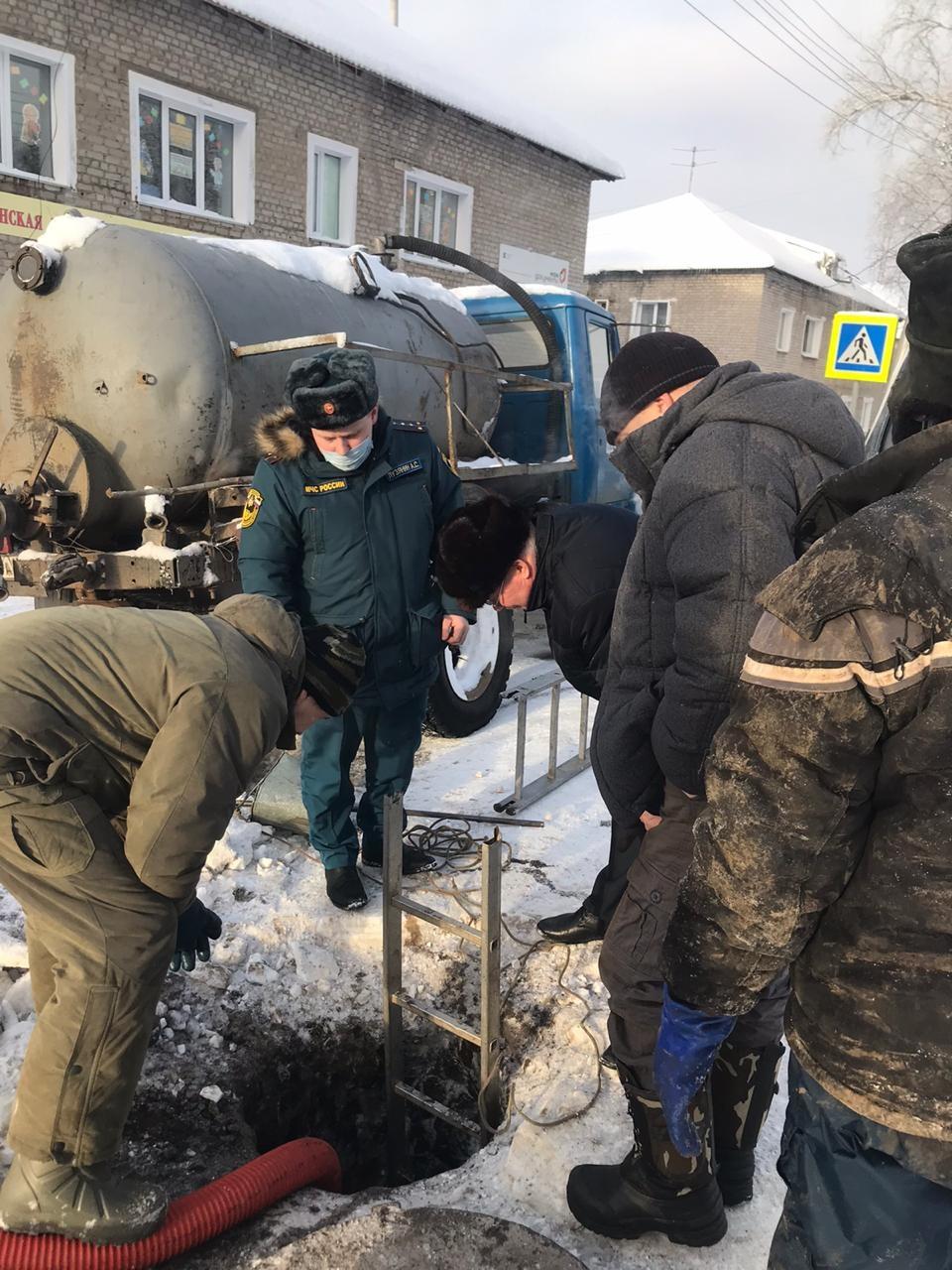 Нарушение холодного водоснабжения в пгт Мурыгино Юрьянского района