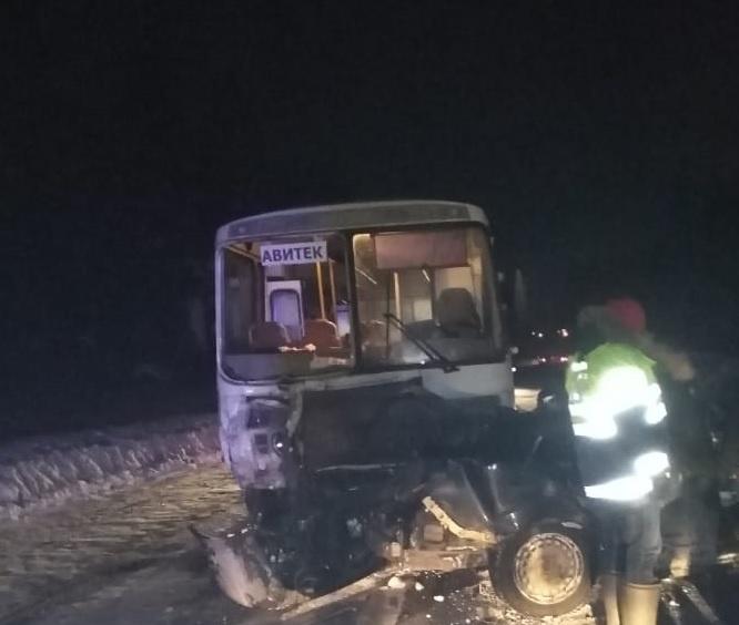 Дорожно-транспортное происшествие в Юрьянском районе
