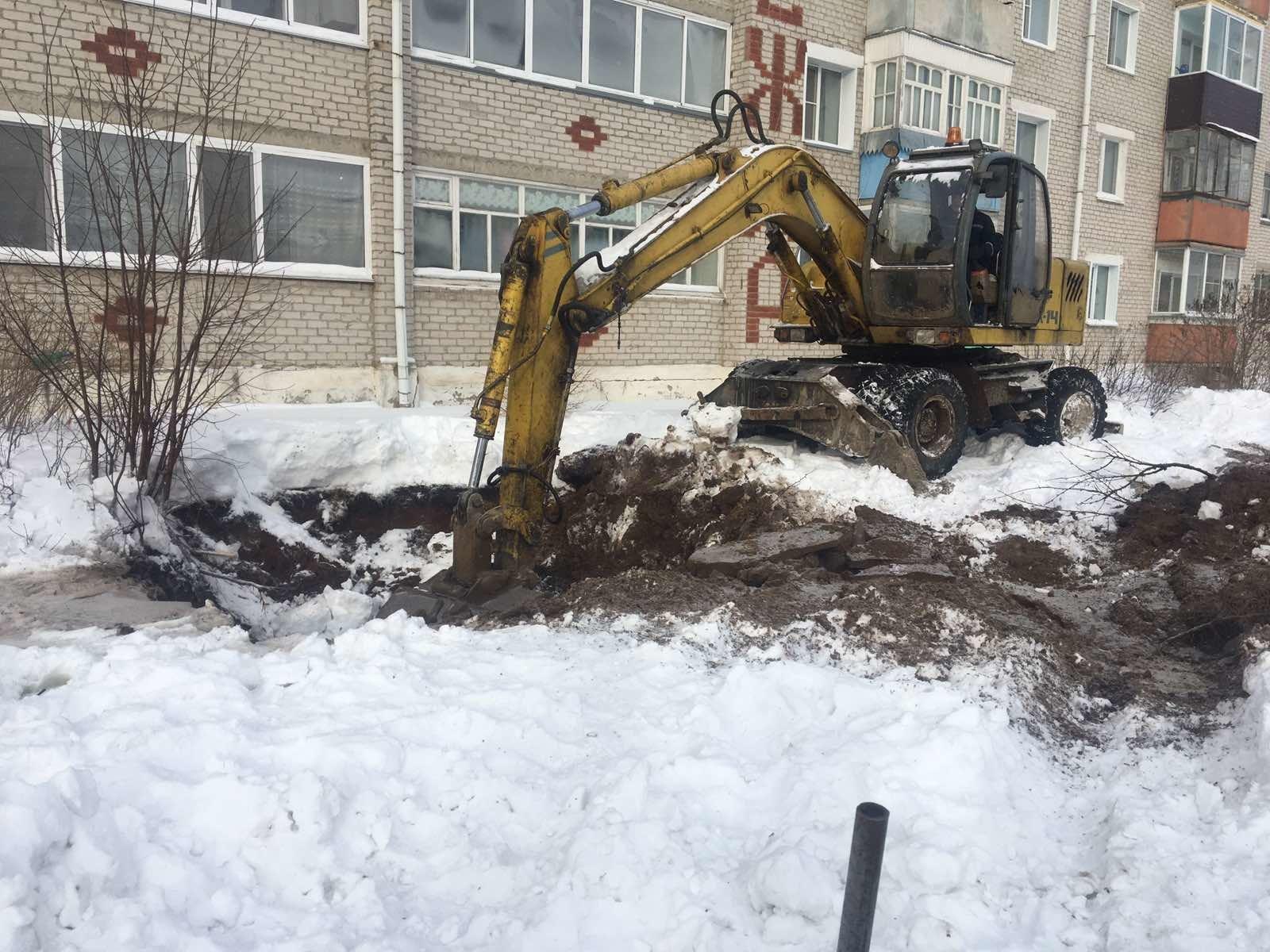 Нарушение холодного водоснабжения в г. Луза Лузского района